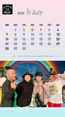 HY HUB CLUB Calendar 202006